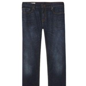 Banana Republic Straight Medium Wash Jeans 33/30